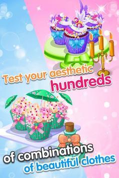 Cute Cupcake - Girls Game apk screenshot