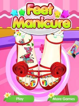 Feet Manicure - Girls Game screenshot 10