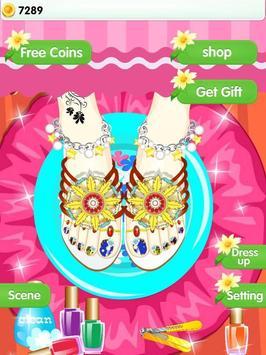 Feet Manicure - Girls Game screenshot 11