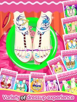 Feet Manicure - Girls Game screenshot 12
