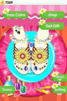 Feet Manicure - Girls Game screenshot 1