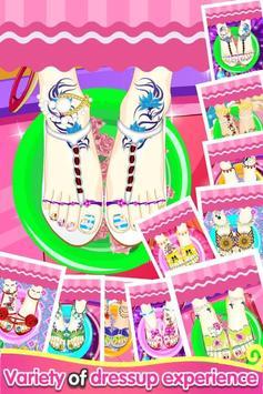 Feet Manicure - Girls Game screenshot 2