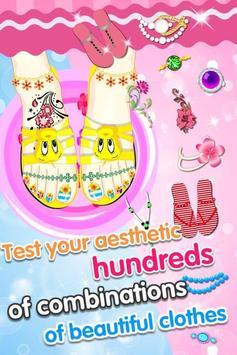 Feet Manicure - Girls Game screenshot 4