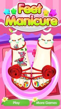Feet Manicure - Girls Game screenshot 5