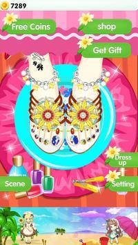 Feet Manicure - Girls Game screenshot 6