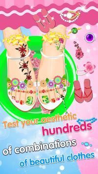 Feet Manicure - Girls Game screenshot 9