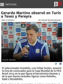 Copa America Diario Popular apk screenshot