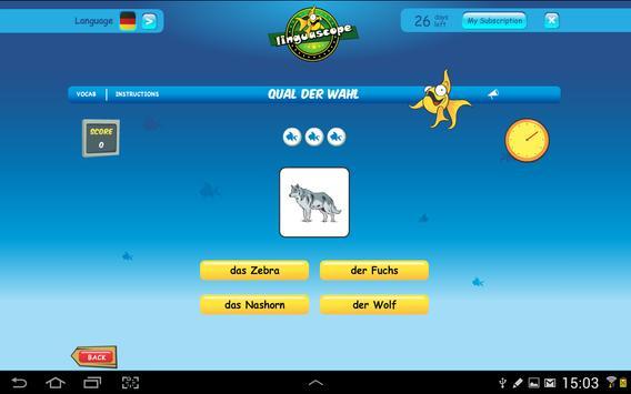 Linguascope Beginners German apk screenshot