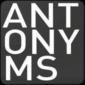 Antonyms icon