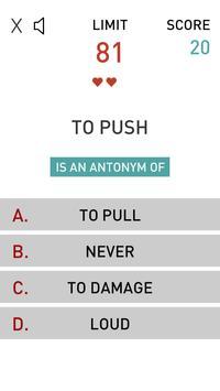 Antonyms - Game apk screenshot