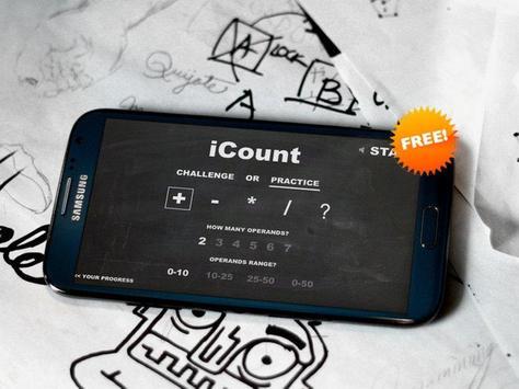 iCount - Free Math Game apk screenshot