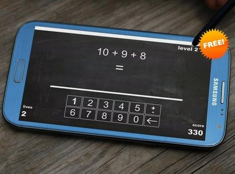 iCount - Free Math Game poster