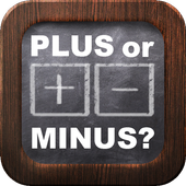 Plus or minus - Free Math Game icon