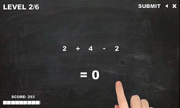 Plus or minus - Free Math Game screenshot 17