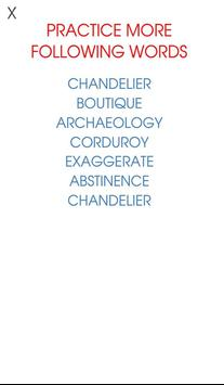 Spelling Challenge - Free apk screenshot