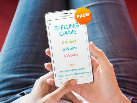 Spelling Game poster