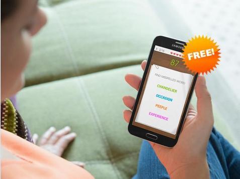 Spelling Master - Free apk screenshot