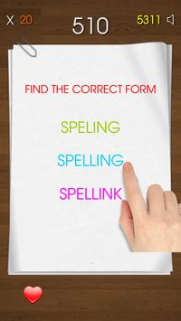 Spelling Test - Free screenshot 6