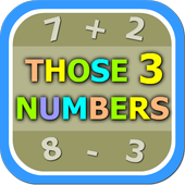 Those Numbers 3 - Free icon