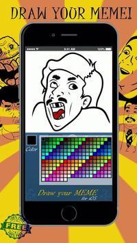 Draw your MEME! apk screenshot