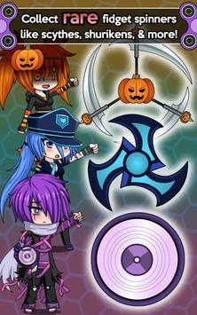 Anime Fidget Spinner Battle Apk Screenshot