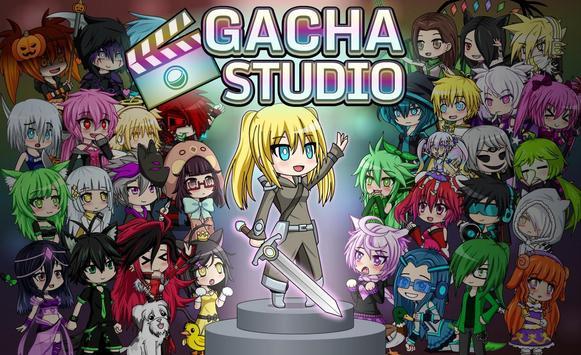 Gacha Studio الملصق