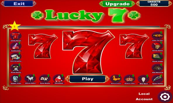 Lucky Seven Slots poster