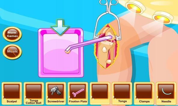 Beauty Knee Surgery Free apk screenshot