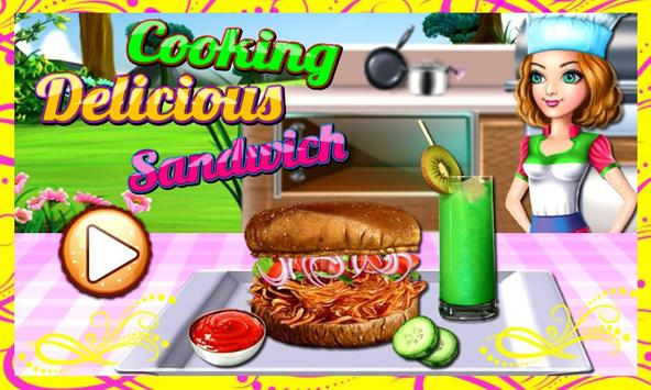Cooking Delicious Sandwich poster