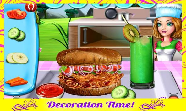 Cooking Delicious Sandwich screenshot 11