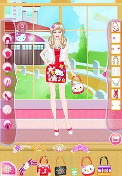 Mafa Kitty Princess Dress Up screenshot 5