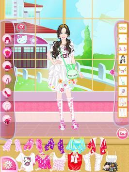 Mafa Kitty Princess Dress Up screenshot 8