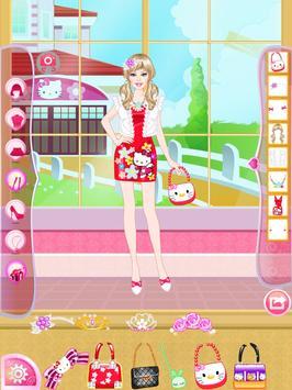 Mafa Kitty Princess Dress Up screenshot 12