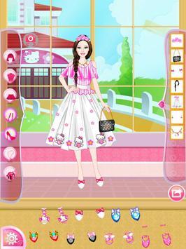 Mafa Kitty Princess Dress Up screenshot 16