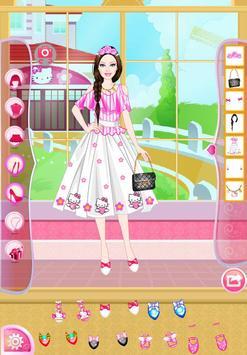 Mafa Kitty Princess Dress Up screenshot 3