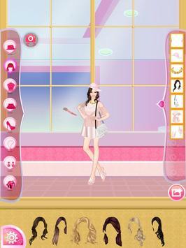 Helen Pink Lady Dress Up poster