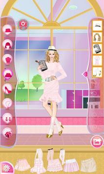Helen Pink Lady Dress Up screenshot 14