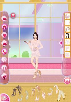 Helen Pink Lady Dress Up screenshot 15