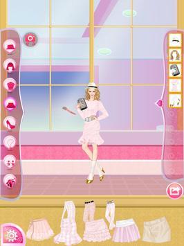Helen Pink Lady Dress Up screenshot 2