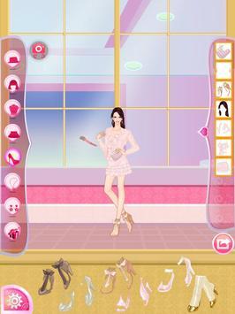 Helen Pink Lady Dress Up screenshot 3