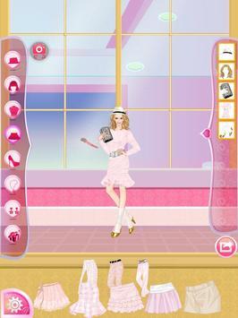 Helen Pink Lady Dress Up screenshot 8