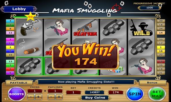 Mafia Smuggling Slots apk screenshot