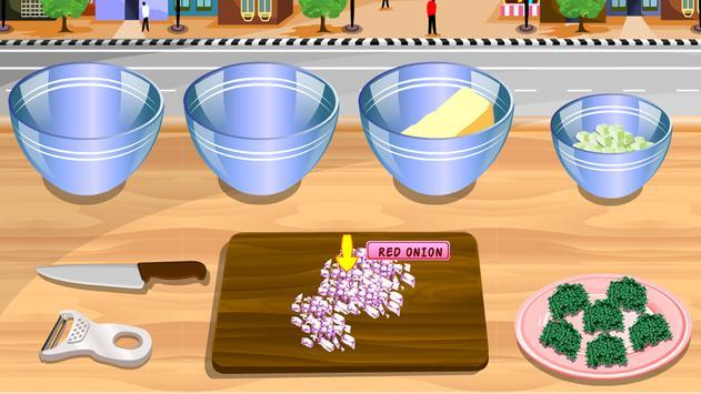 cooking games prepare salad apk screenshot
