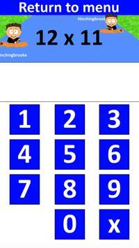 PiXL Times Tables screenshot 1