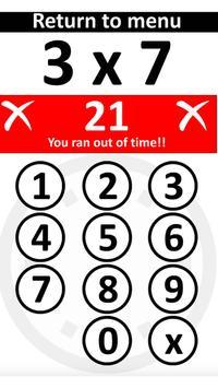 PiXL Times Tables screenshot 2