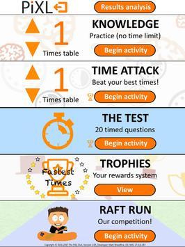 PiXL Times Tables screenshot 4