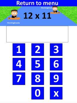PiXL Times Tables screenshot 5