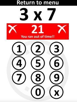 PiXL Times Tables screenshot 6