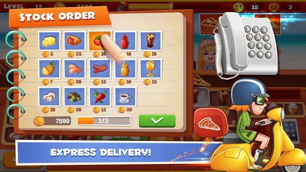 Papa Pizza Shop apk screenshot