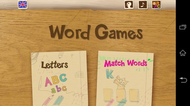 My First ABC Word Games En-Fr screenshot 3